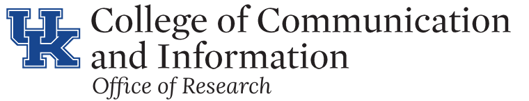 UK College of Communication and Information Office of Research Logo
