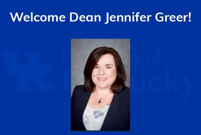 Welcome Dean Greer