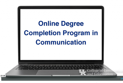 Online Degree Completion Program in Communication