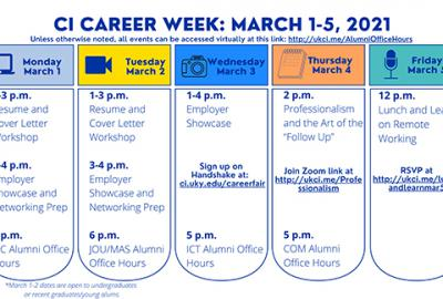 Career Week Graphic